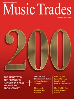 Music Trades August 2014 Cover