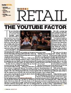 Music Inc. Magazine - Music Store Live, The YouTube Factor