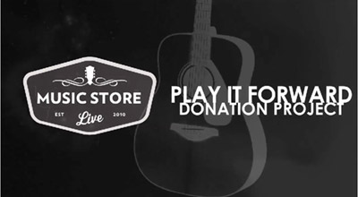 Seven Days - Music Store Live Launches New Program to Give Guitars to Disadvantaged Kids